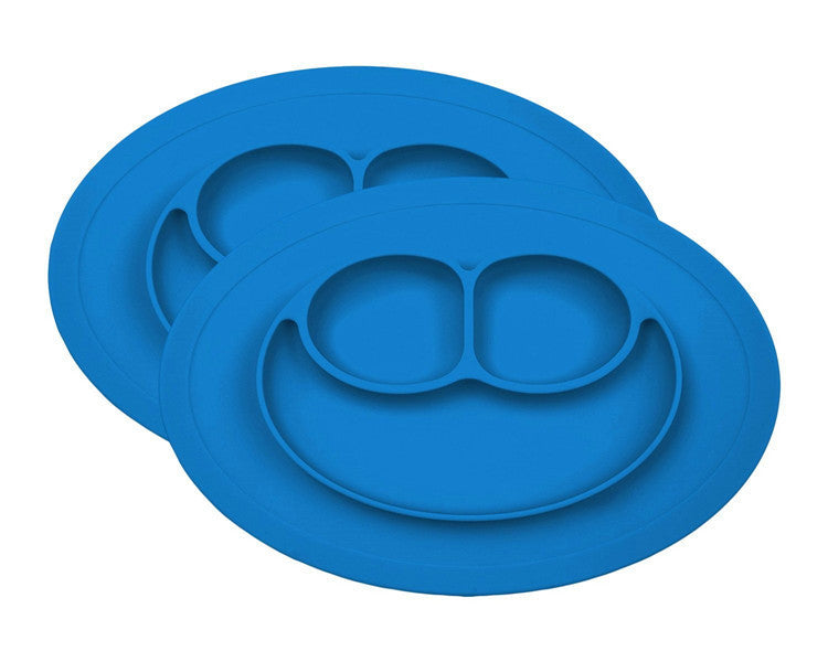 Kid's Smiley Face Dining Plate