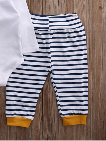 Summer Newborn Striped Pants