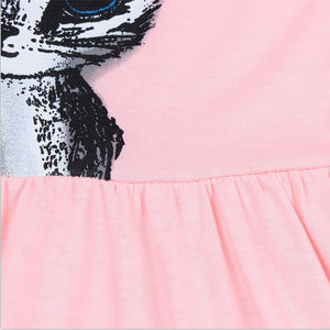 TANGUOANT Summer dress (cat print)