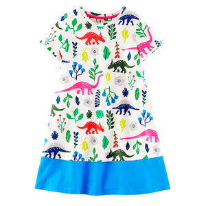 Unicorn Princess Flamingo Dress