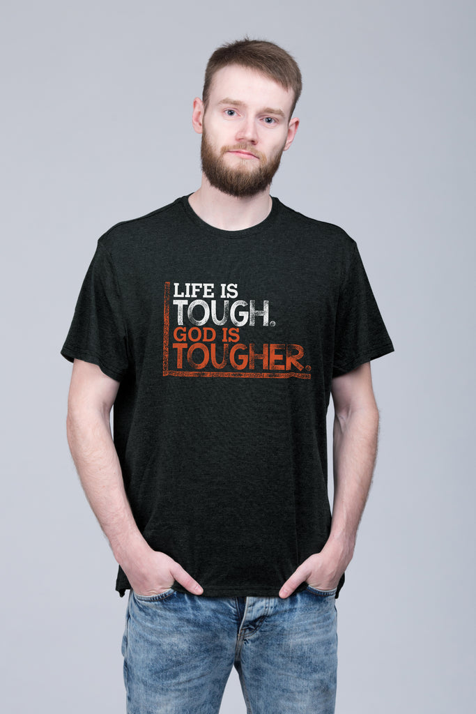 God Is Tougher - Unisex Tee