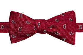Mercer Red Pines Bow Tie