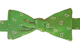 Mercer Green Pines Bow Tie