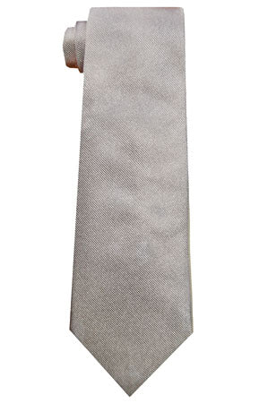 Silk Neckties - Pewter