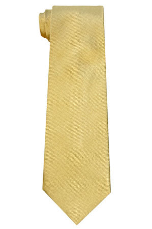 Silk Neckties - Maize