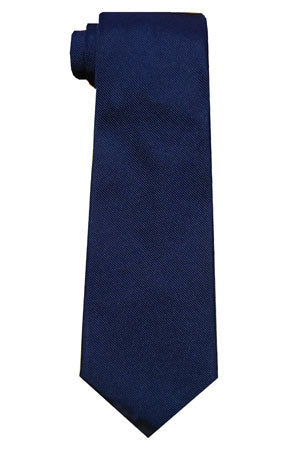 Silk Neckties - Navy