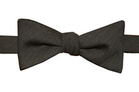 Ridge Charcoal Bowtie