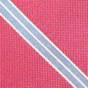 Waverly Striped Red Tie