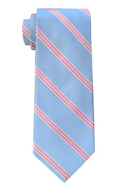 Waverly Striped Blue Tie