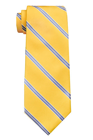 Waverly Striped Yellow Tie