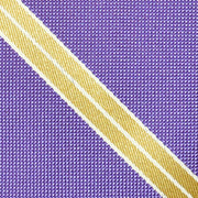 Waverly Striped Purple Tie