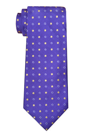 Classon Dot Purple Tie