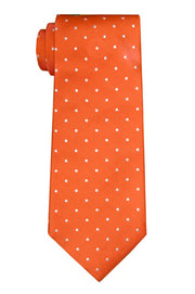 Ross Dot Orange Tie