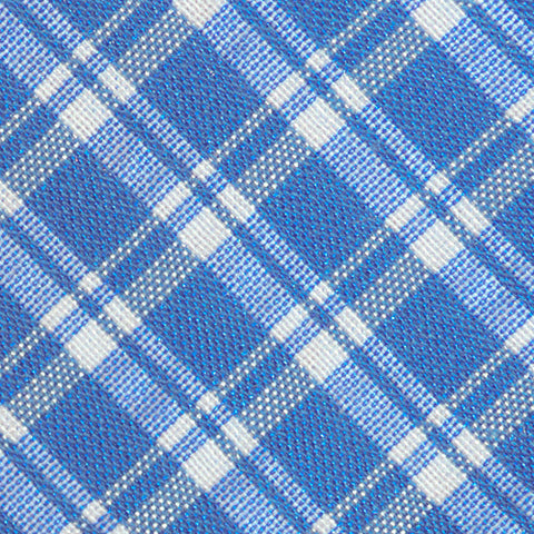 Ryerson Plaid Blue Tie