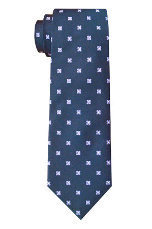 Ellwood Foulard Tie Purple