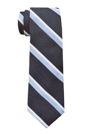 Arden Striped Tie Navy