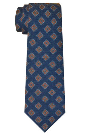 Hausman Diamond Tie Navy