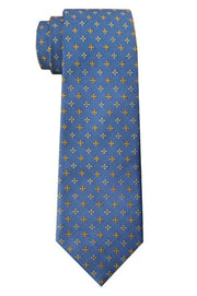 Ingram Foulard Tie Blue