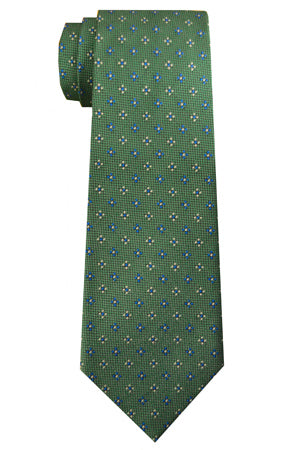 Ingram Foulard Tie Green