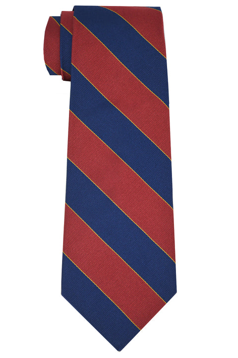 Murray Striped Tie Red