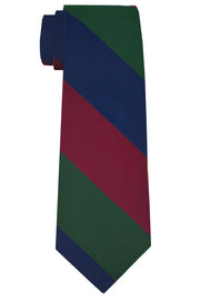 Harrison Striped Tie Red