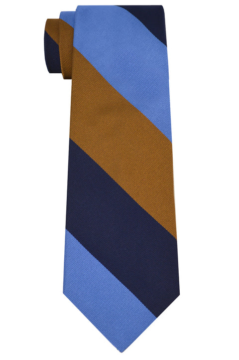 Harrison Striped Tie Copper
