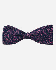 Hastings Floral Bow Tie Navy
