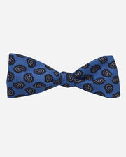 Norfolk Pine Bow Tie Blue