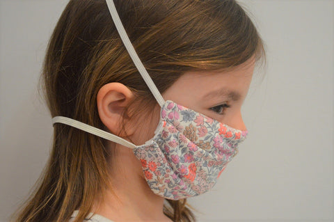 Kids Sweet May Reusable Face Mask With Elastic Straps