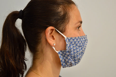 Ocelli Reusable Face Mask With Elastic Straps