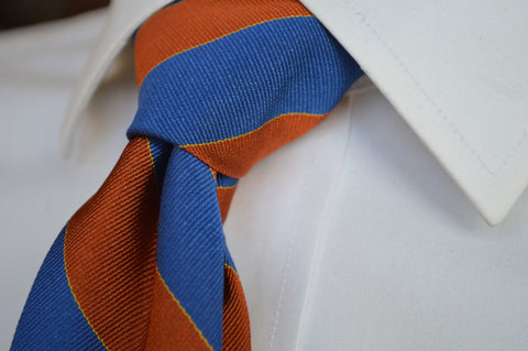 Murray Striped Tie Orange