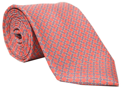 Rawlins Panama Link Tie Red