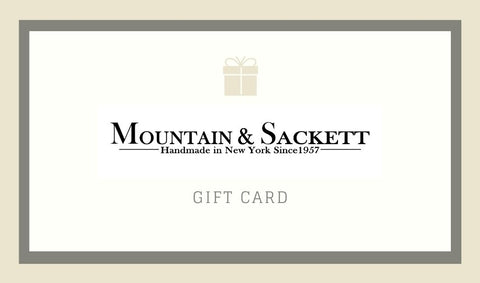 Mountain & Sackett Branded Gift Card