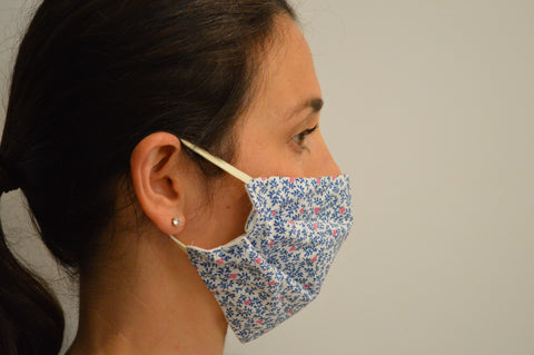 Willow Reusable Face Mask With Elastic Straps