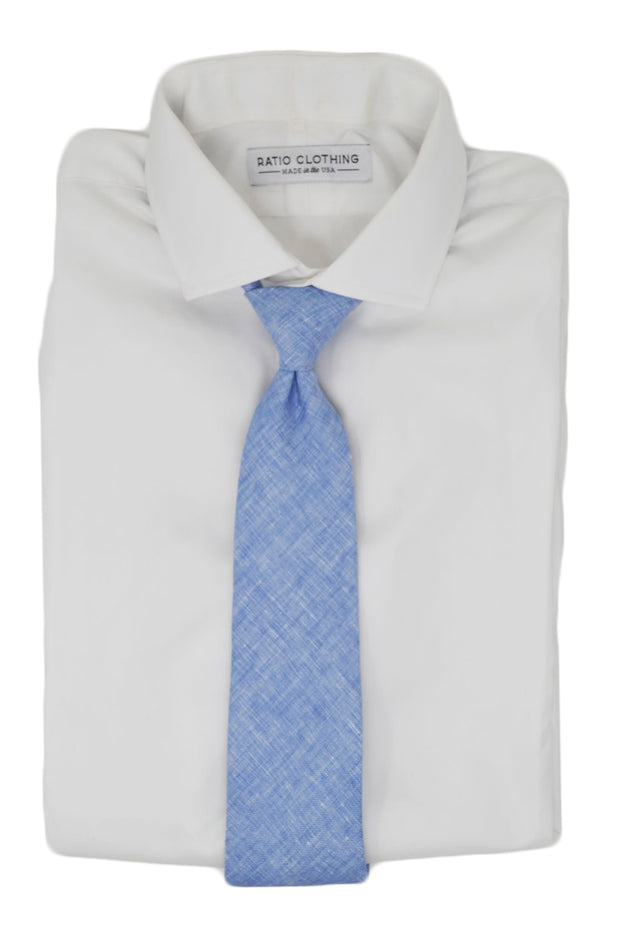 Thomas Blue Solid Tie