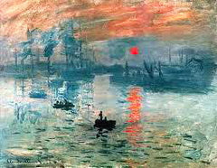 1872 Impression Rising Sun by Claude Monet