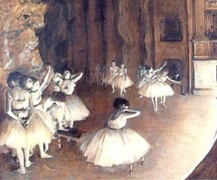 Ballet Rehearsal on the Set