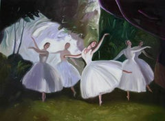 Ballerinas On the Stage
