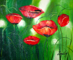 Poppies a la Melocoton