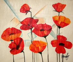 Poppies Rojas