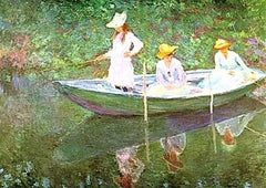 Boat at Giverny