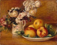 Apples And Flowers 1895-1896