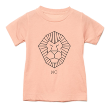 Load image into Gallery viewer, Leo Toddler Triblend Tee - Stuff of Stars by Wants & Needs - Zodiac Horoscope Screenprinted Tshirt