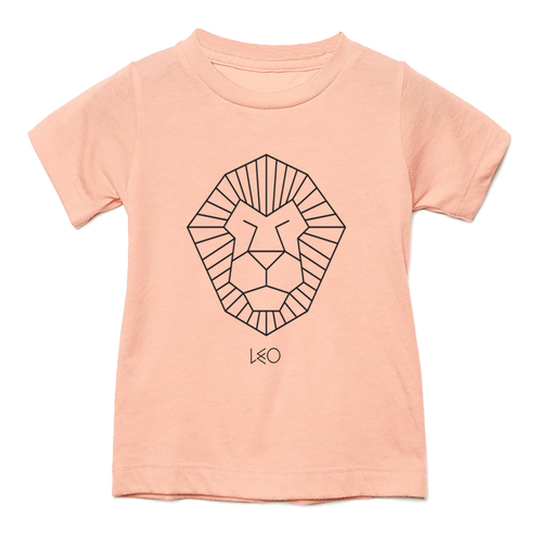 Leo Toddler Triblend Tee - Stuff of Stars by Wants & Needs - Zodiac Horoscope Screenprinted Tshirt