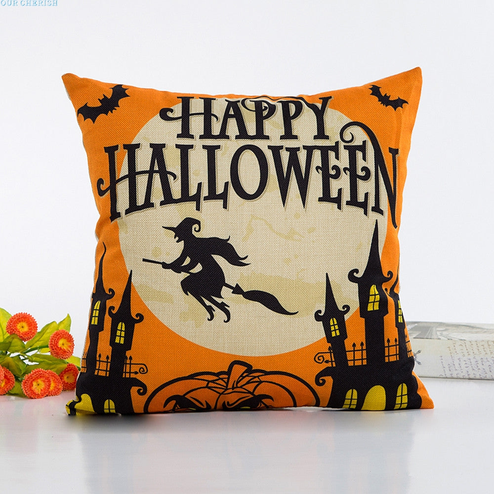 halloween pillow case cushion cover – safe harbor home decor