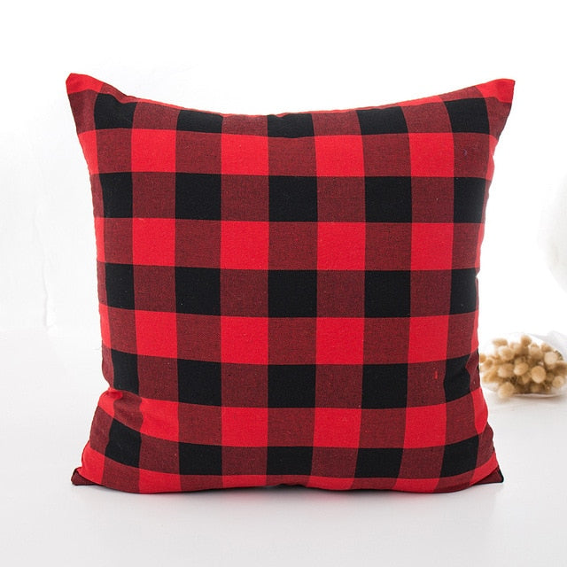 Plaid Pillow Cover Safe Harbor Home Decor Stunning Load Pillow Covers