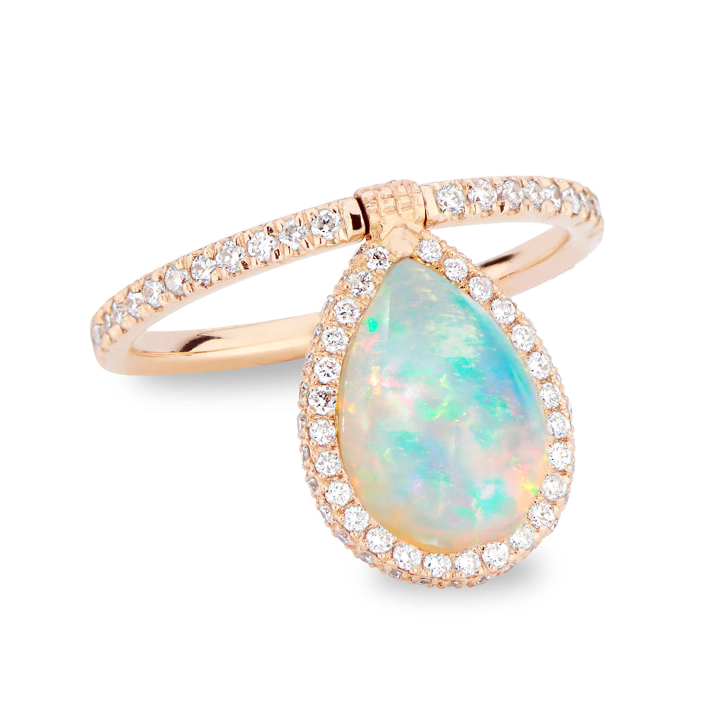 Medium Opal Flip Ring - Nina Runsdorf