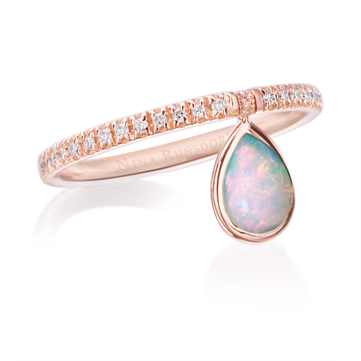 Mini Opal Flip Ring - Nina Runsdorf