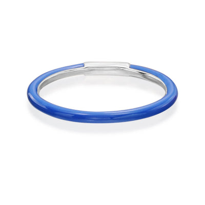 Enamel Band in Blue - Nina Runsdorf