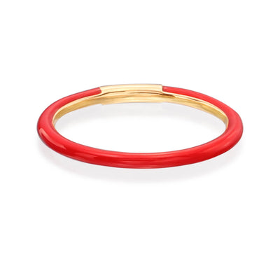 Enamel Band in Red